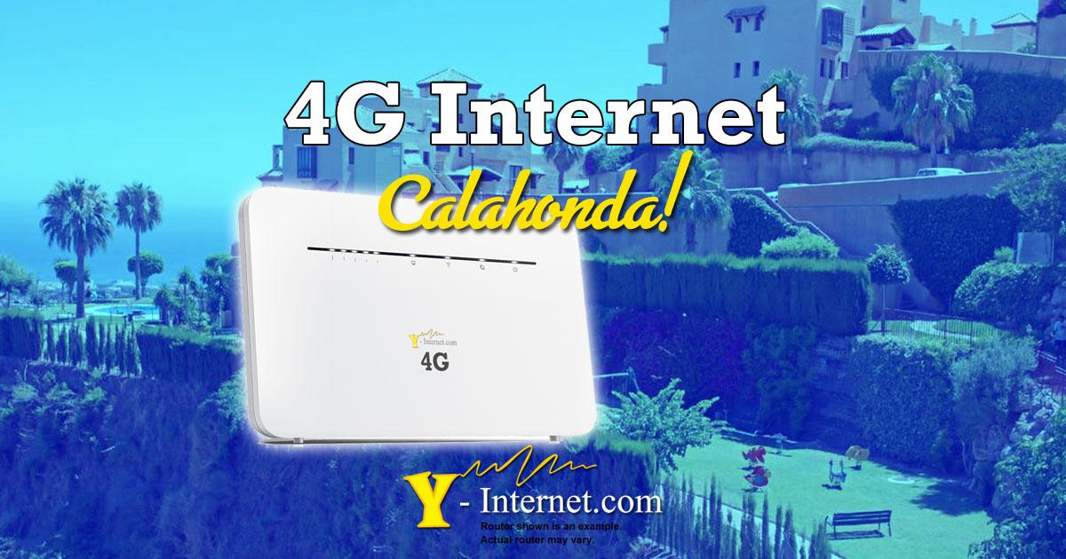 4G in Alcores Calahonda.  4G & Wimax Internet, Costa Del Sol
