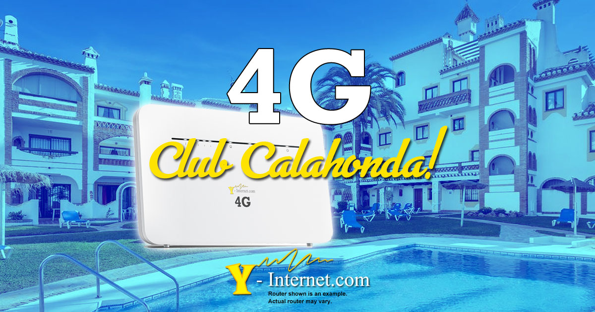 Club Calahonda 4G Internet, Costa Del Sol