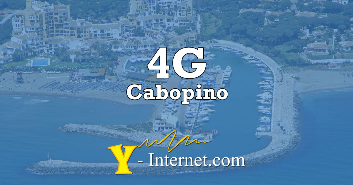 4G Fiber Optic WiFi Internet Cabopino Mijas Costa Spain OG02