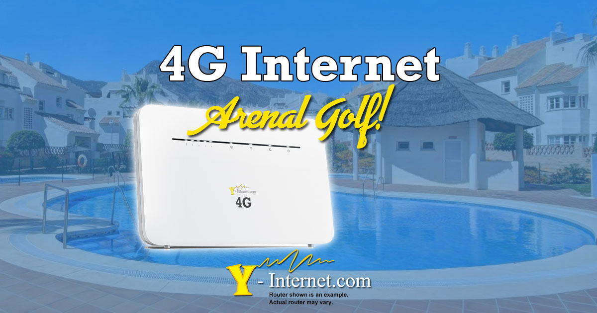 Arenal Golf Internet – Fase 1, Benalmadena, 4G & WiMax Internet