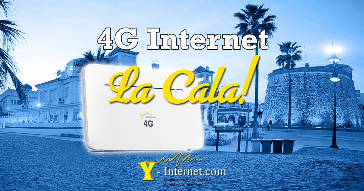 4G Internet in La Cala de Mijas