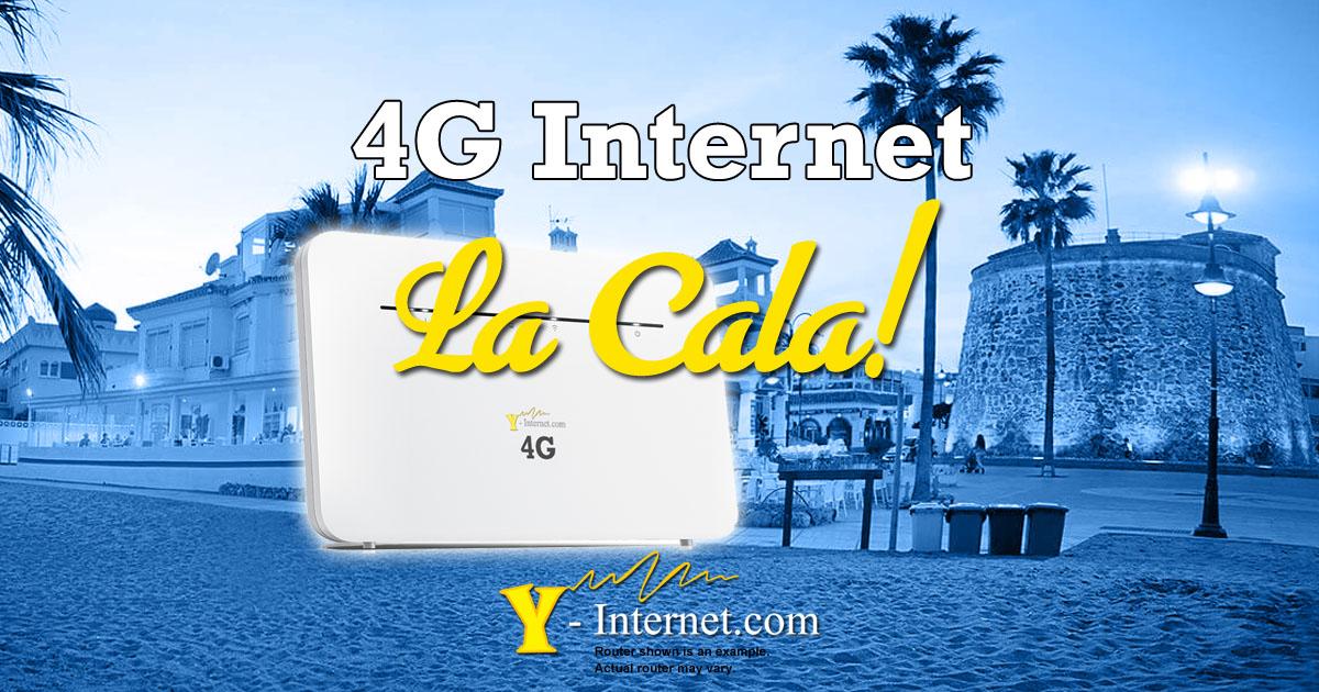 4G Internet in La Cala de Mijas Y-Internet OG01