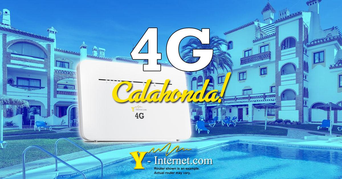 Calahonda 4G Internet
