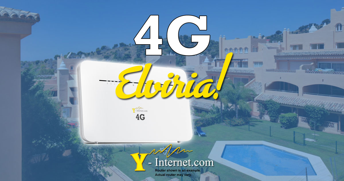 Elviria 4G Internet