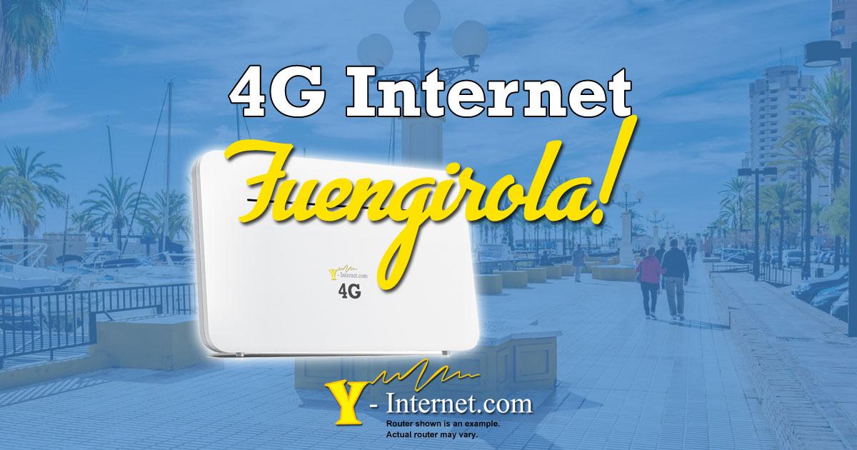 Fuengirola 4G & Wimax Internet