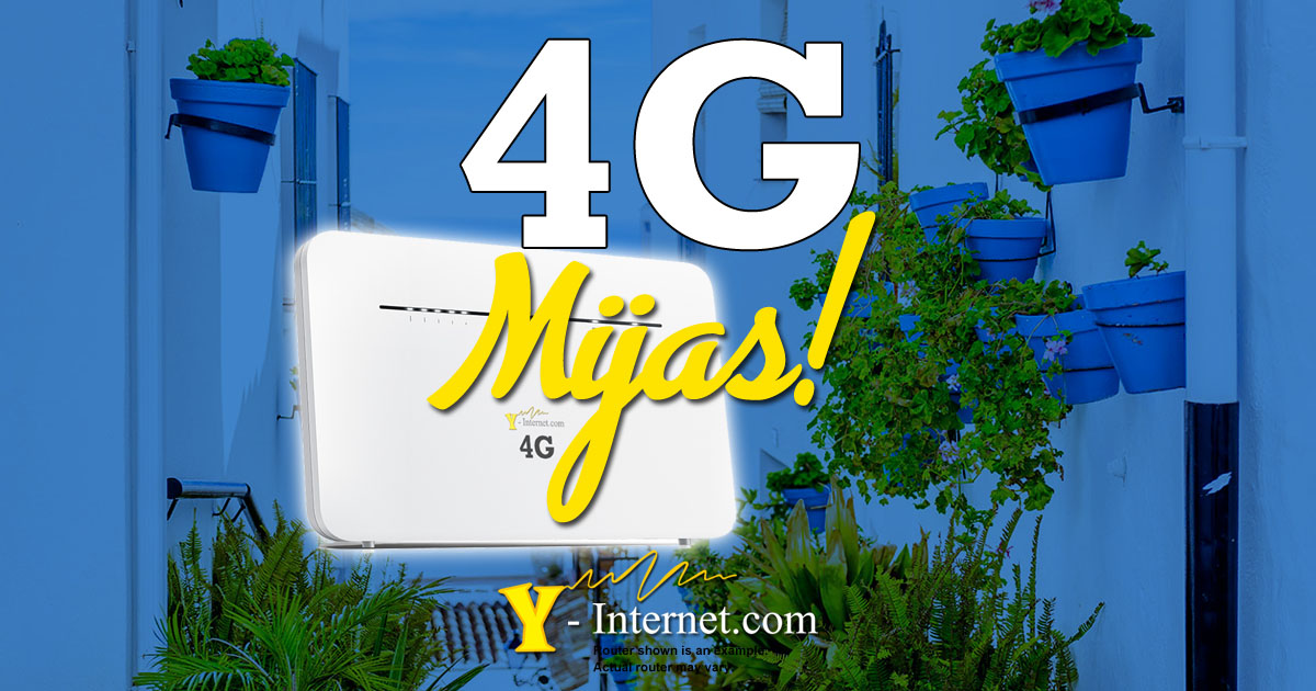 Mijas 4G Internet Cheapest 4G Y-Internet OG01