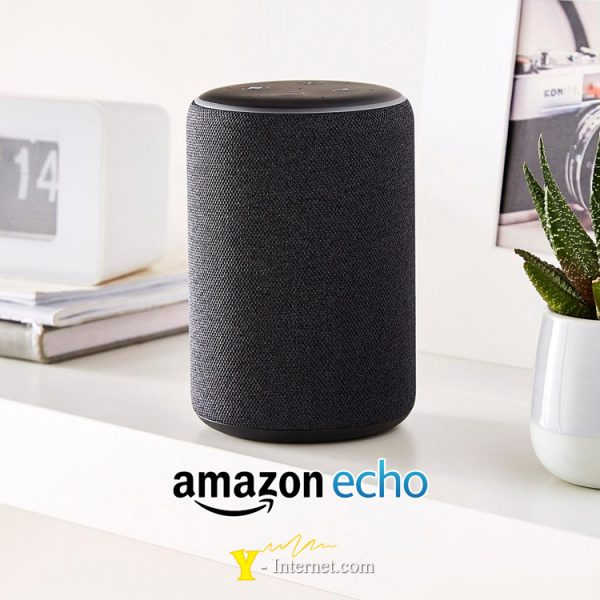 Amazon Echo Plus Black Y-Internet Smart Home & Security P01