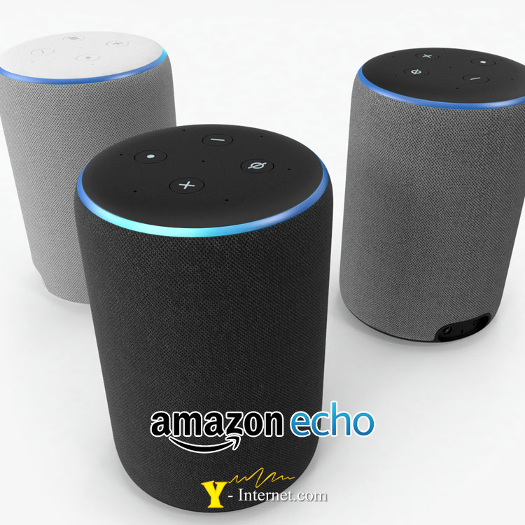 Amazon Echo Plus Black Y-Internet Smart Home & Security P04