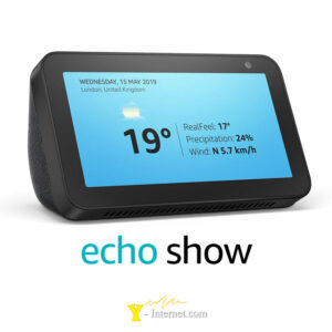 Echo Show 5 Compact Smart Display Alexa Black Y-Internet Smart Home & Security P01