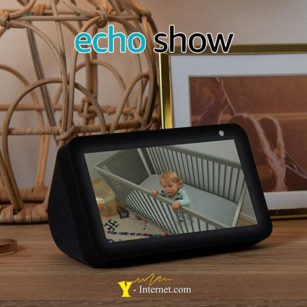 Echo Show 5 Compact Smart Display Alexa Black Y-Internet Smart Home & Security P03