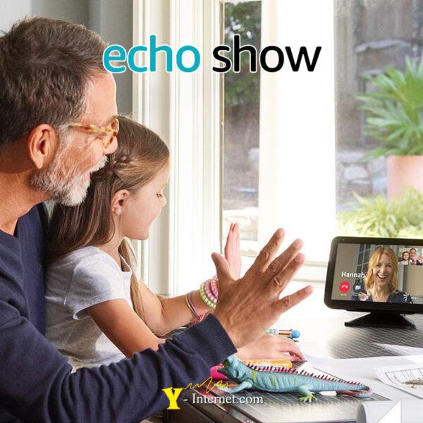 Echo Show 5 Compact Smart Display Alexa Black Y-Internet Smart Home & Security P04