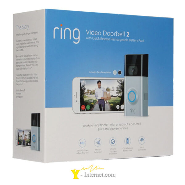 Ring Video Doorbell 2 Y-Internet Smart Home & Security P01
