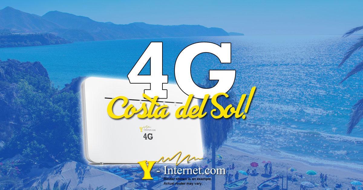 4G Costa del Sol - 4G Internet from Y-Internet_com