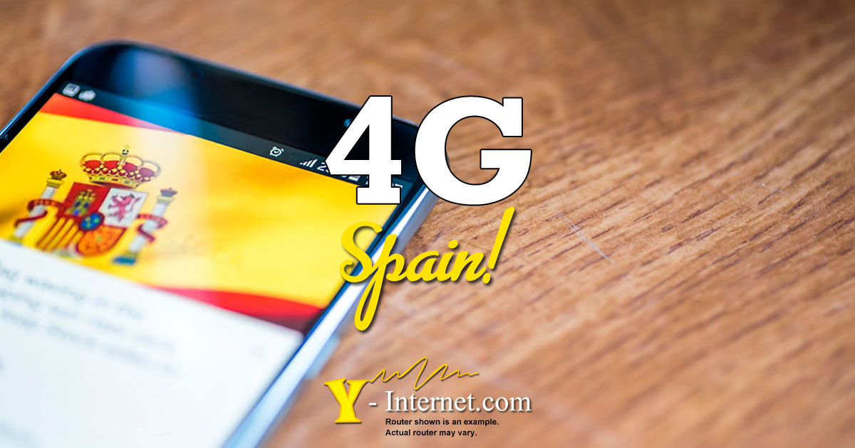 4G Internet Spain - Fast, reliable, great price - 4G from Y-Internet OG01