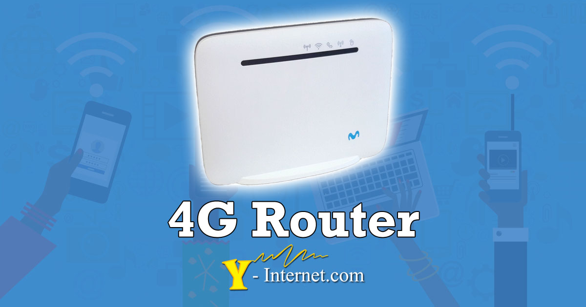 4G Router - 4G Internet from Y-Internet Costa del Sol Spain OG01