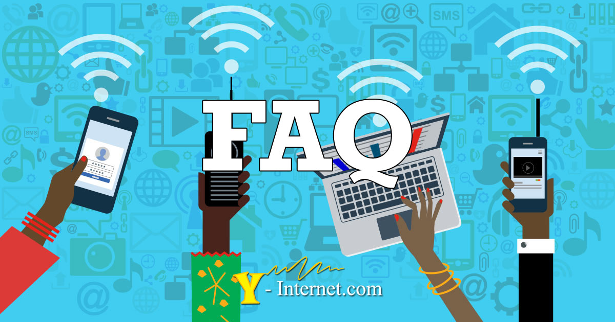 FAQ - Frequently Asked Questions Y-Internet Costa del Sol Spain OG01