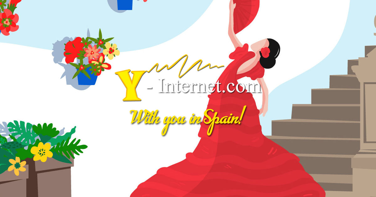 Internet in Spain - Y-Internet are with you in Spain OG01