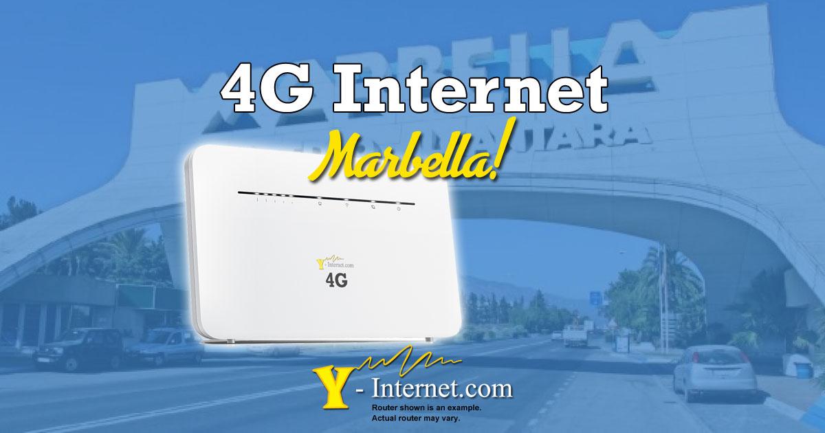 Marbella 4G Internet