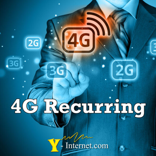 4G Recurring Contracts from Y-Internet.com