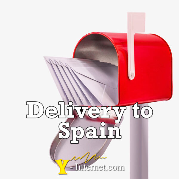 Delivery to Spain - Y-Internet.com