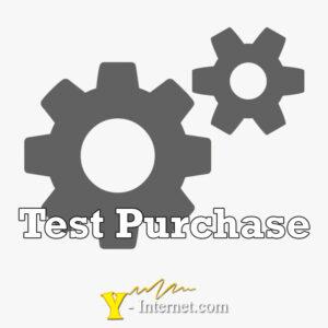 Test Purchase Y-Internet.com
