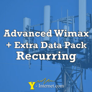 Advanced WiMax + Extra Data Pack Recurring